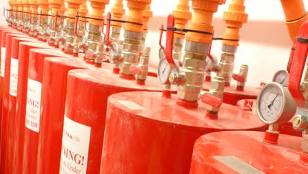water mist fire sprinkler system