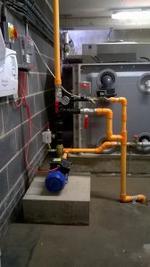 Fire Sprinkler System Plant room