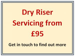 Dry Riser Servicing from £95