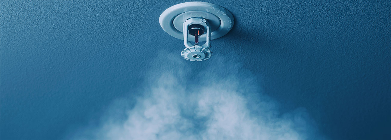 What about legionnaires in fire sprinklers?